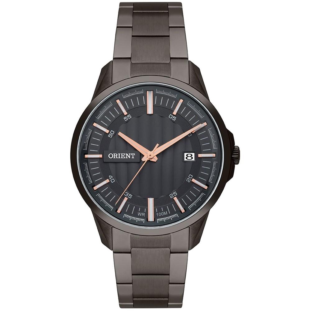 Relógio Orient Masculino Mpss1005 G1gx Casual Black