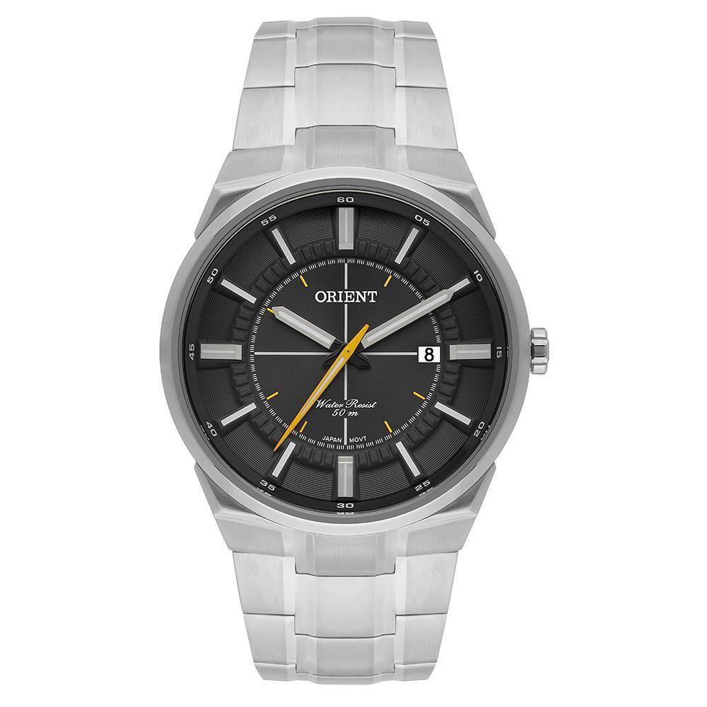 Relógio Orient Prateado Masculino Mbss1328 g1sx