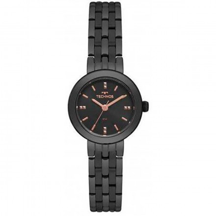 Relógio Technos Feminino 2035mqn/4p Preto