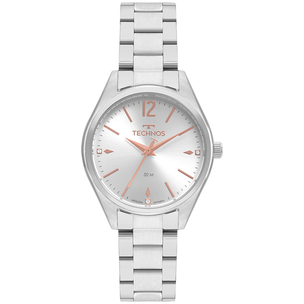 Relógio Technos Feminino Casual 2036MNN/1K