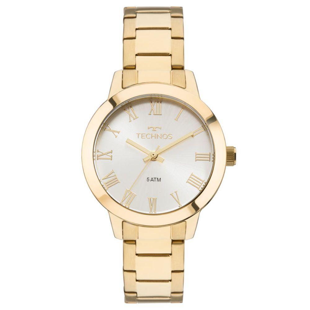 Relógio Technos Feminino Dourado 2035MKU/4K