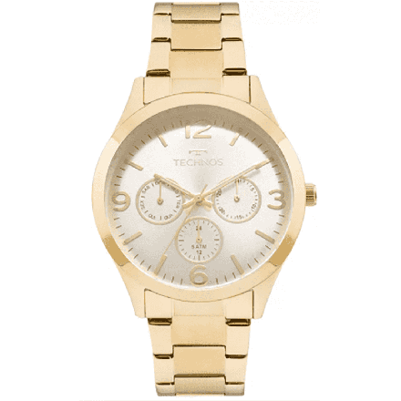 Relógio Technos Feminino Rosé Mutifunção 6P29AJH/4K