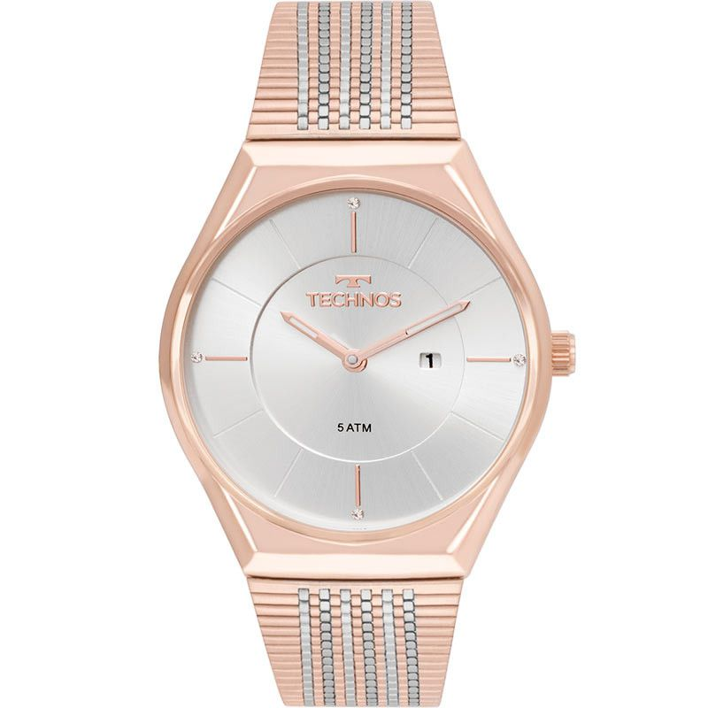 Relógio Technos Feminino Slim Rosé GL15AP/4B