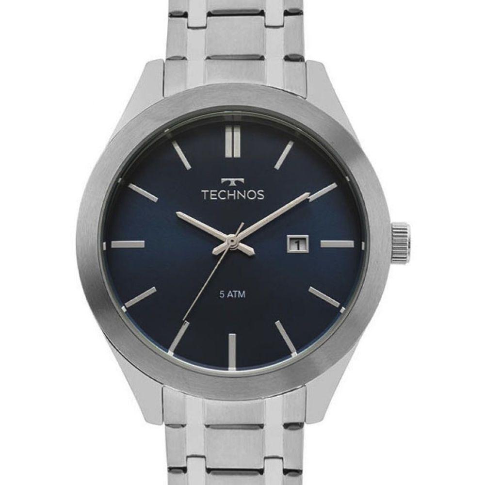 Relógio Technos Masculino 2115MNR/1A Classic Steel