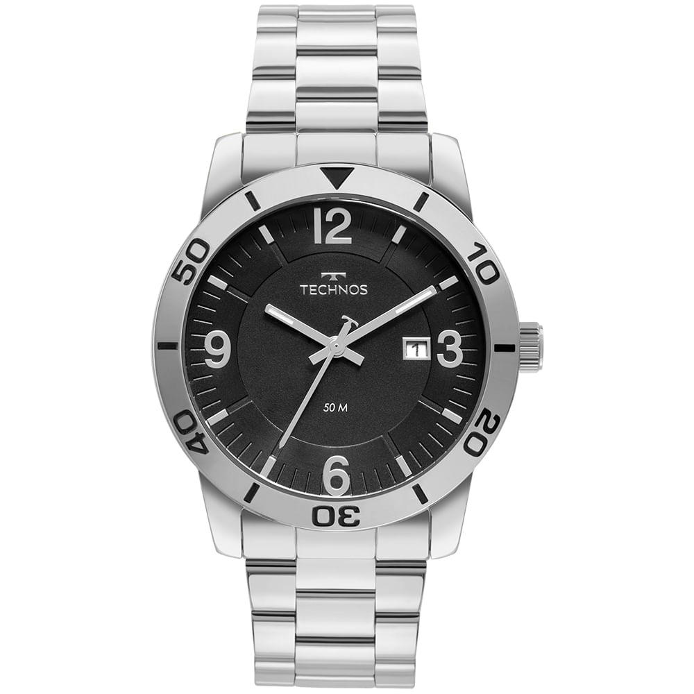 Relógio Technos Masculino Casual Militar 2115MXJ/0K