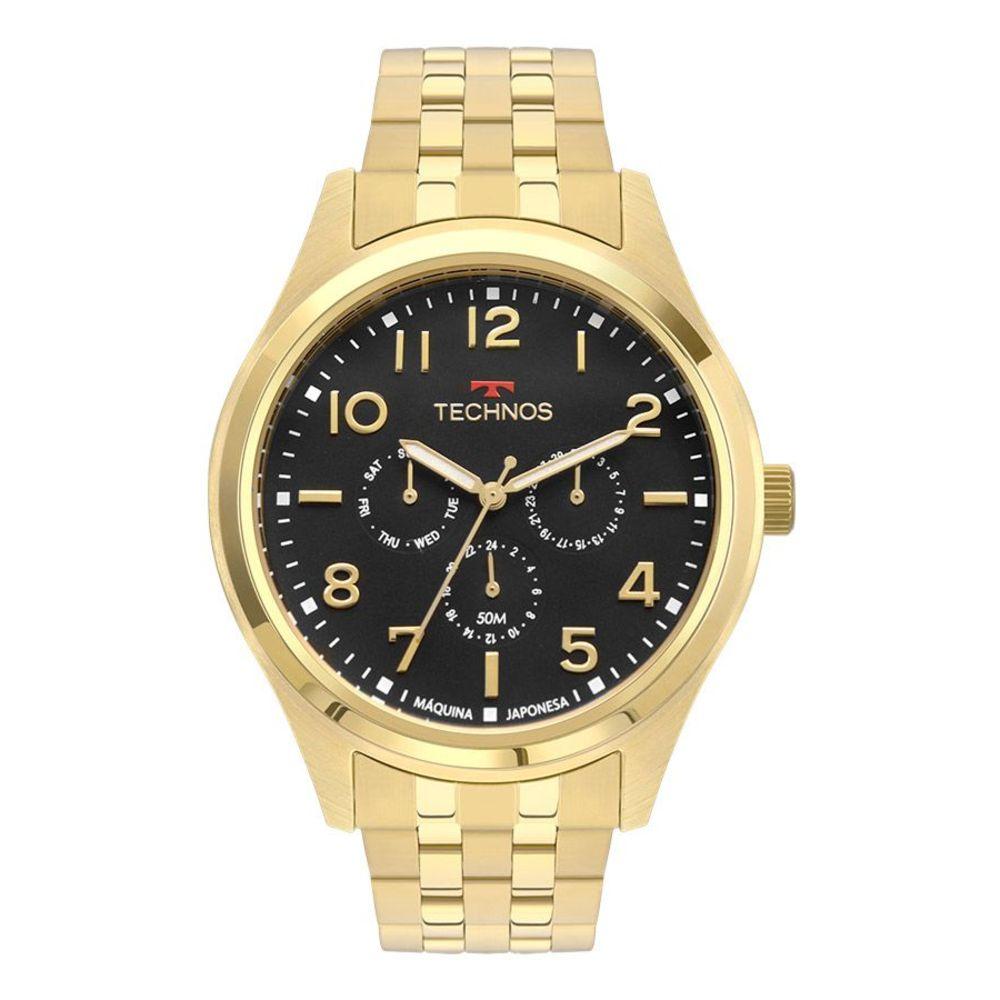 Relógio Technos Masculino Classic Steel 6p29aki/4p