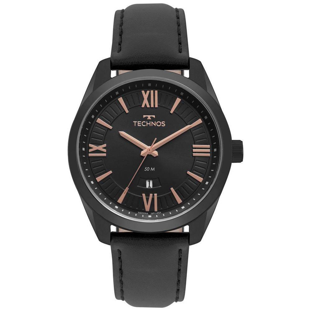 Relógio Technos Masculino Couro 2115MSP/4P