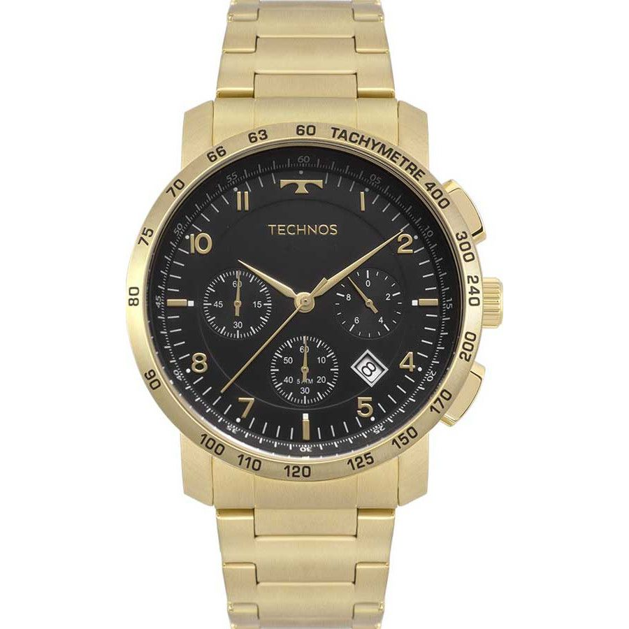 Relógio Technos Masculino Cronógrafo 6s20aa/4p
