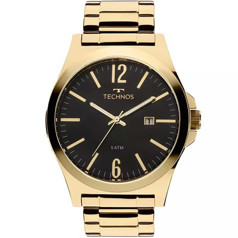 Relógio Technos Masculino Executive Dourado 2115Lan/4P