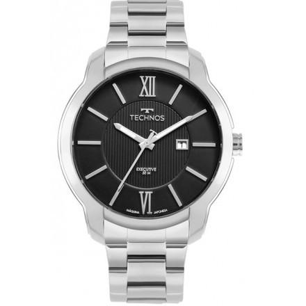 Relógio Technos Masculino Executive Prata 2115MWZ/1P