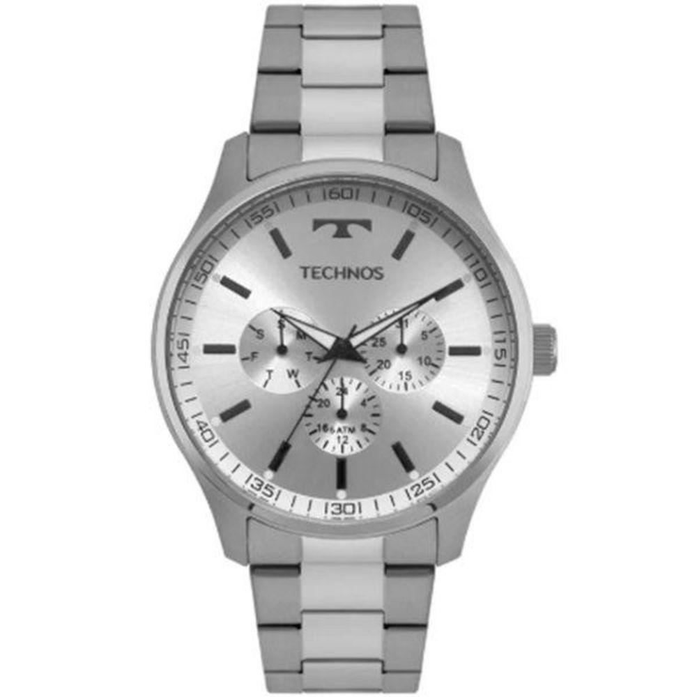 Relógio Technos Masculino Multifunção 6p29ajo/1k