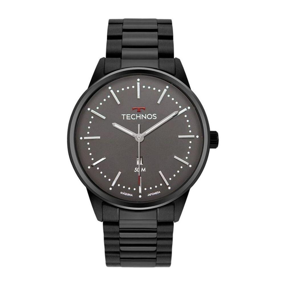 Relógio Technos Masculino Preto 2015Cdw/4C