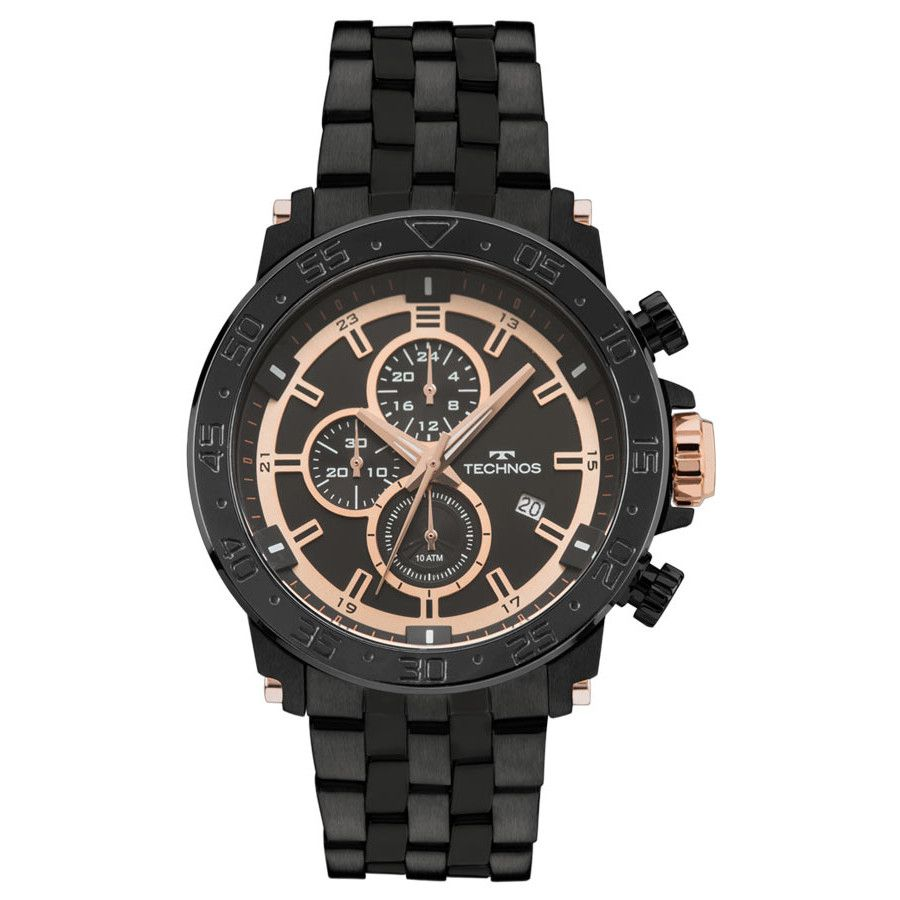 Relógio Technos Masculino Rosé Cronógrafo js15es/4p