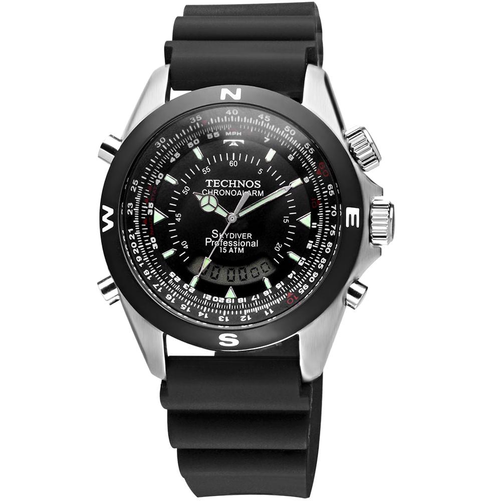 Relógio Technos Masculino Skydiver T20561/8K