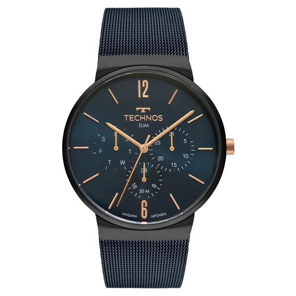 Relógio Technos Masculino Slim 6p29akp/4a