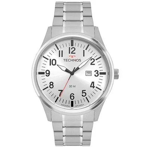 Relógio Technos Steel Masculino 2115mtb/1a Prata