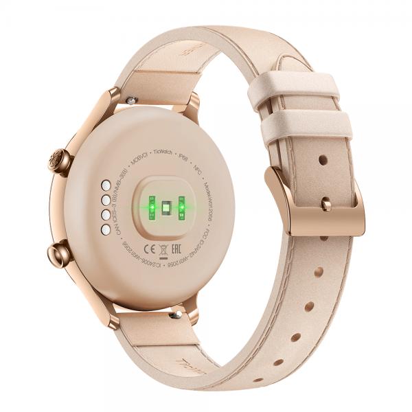 Smartwatch Feminino TicWatch C2 Rosé para IOS e Android