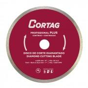 Disco de Corte Diamantado Profissional Plus 200mm Cortag