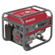 Gerador de Energia a Gasolina 6,5Kva Monofásico B4T 8000 Branco