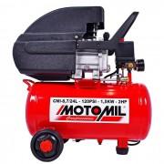 Motocompressor 8,7 Pés 24 Litros Bivolt Motomil