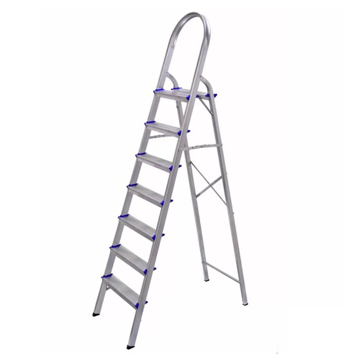 Escada de Alumínio 7 Degraus Real