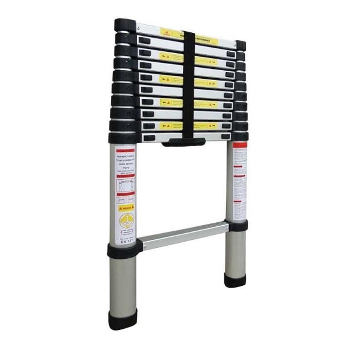 Escada Telescópica em Alumínio 10 Degraus