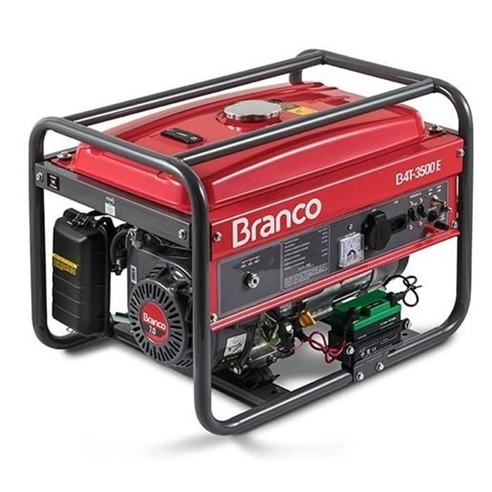 Gerador de Energia a Gasolina 7.0CV B4T 3500 Monofásico Branco