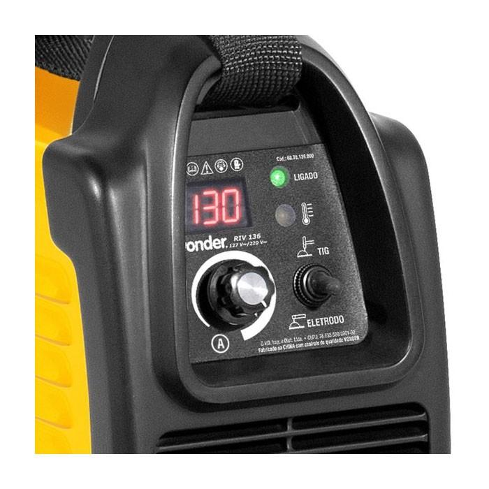 Inversor para Solda Elétrica Bivolt RIV 136 Vonder