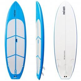 Prancha de Stand Up Paddle 10 pés Soft + Capa + Colete Brasil Natural