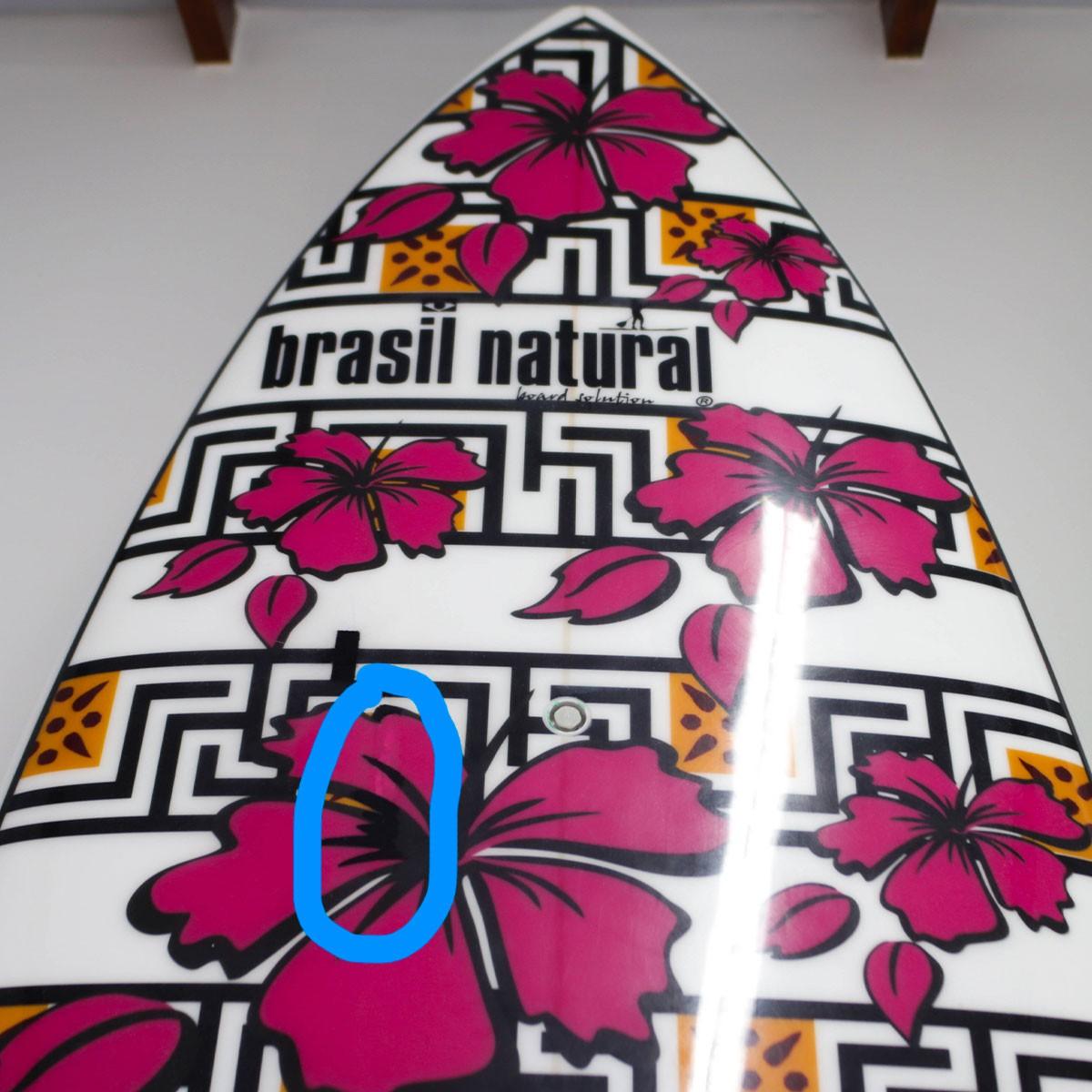 Prancha de Stand up Paddle 10 pés fibra Floral Rosa + Kit remada