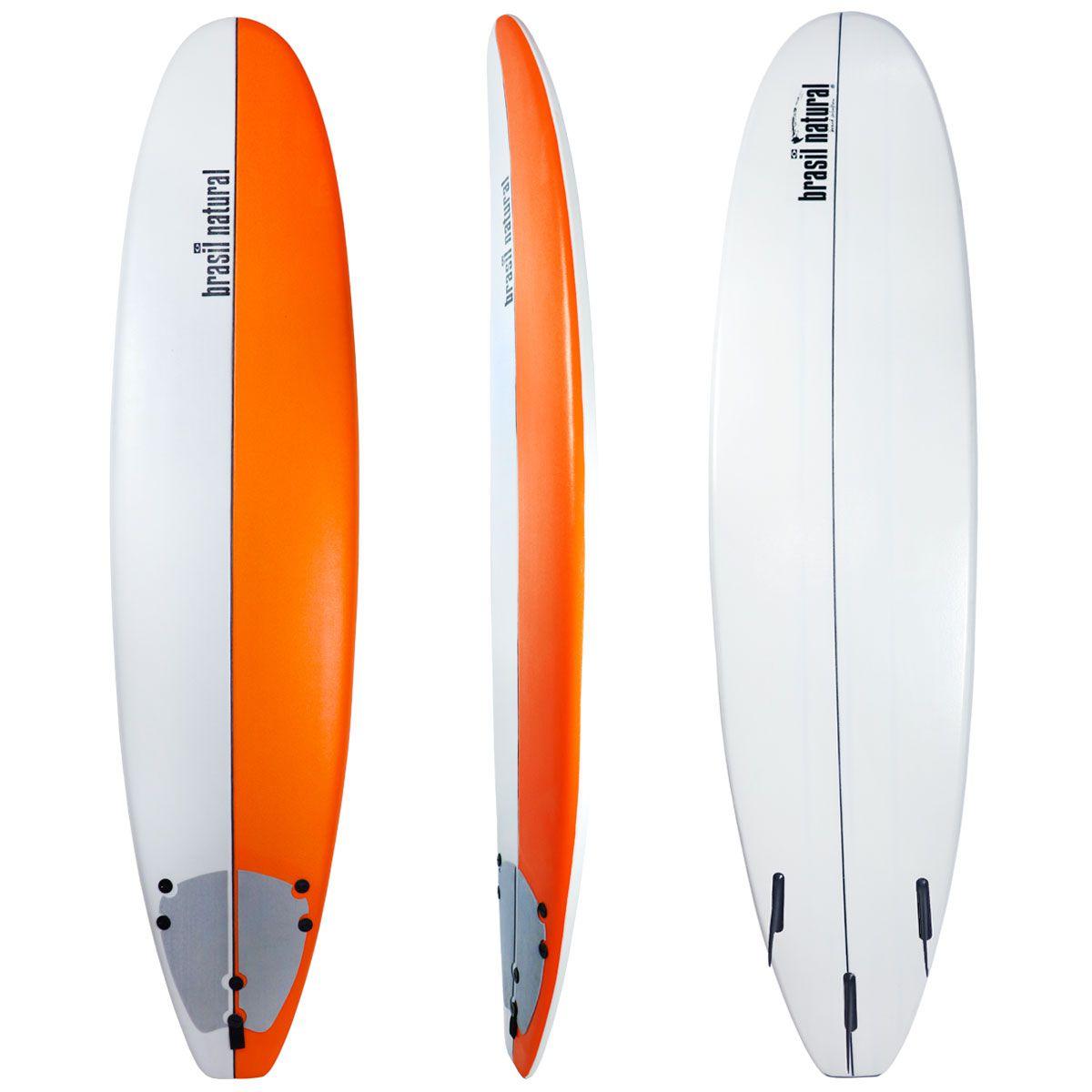 Prancha de surf fun board 7.6 edição limitada+ kit surf - Brasil Natural