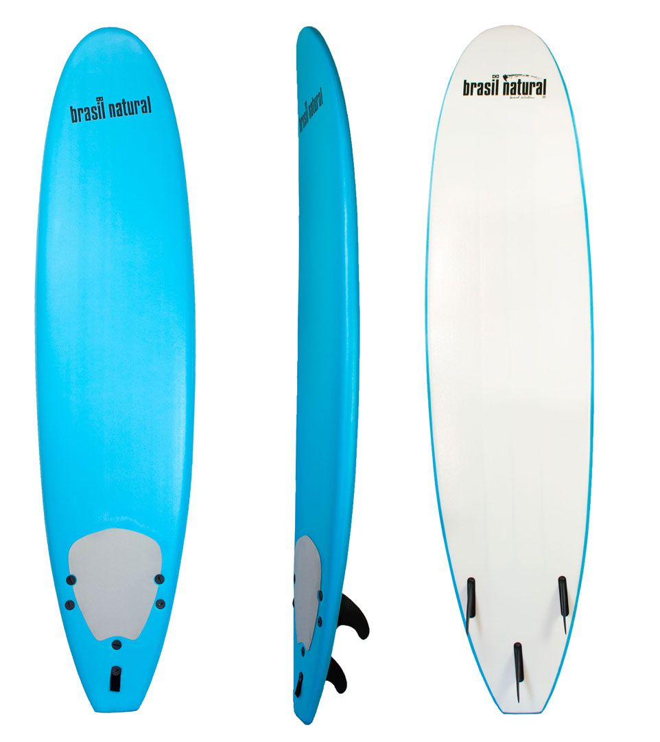 f847a8d37 Prancha de surf fun board 7.6 + kit surf - Brasil Natural - Brasil Natural