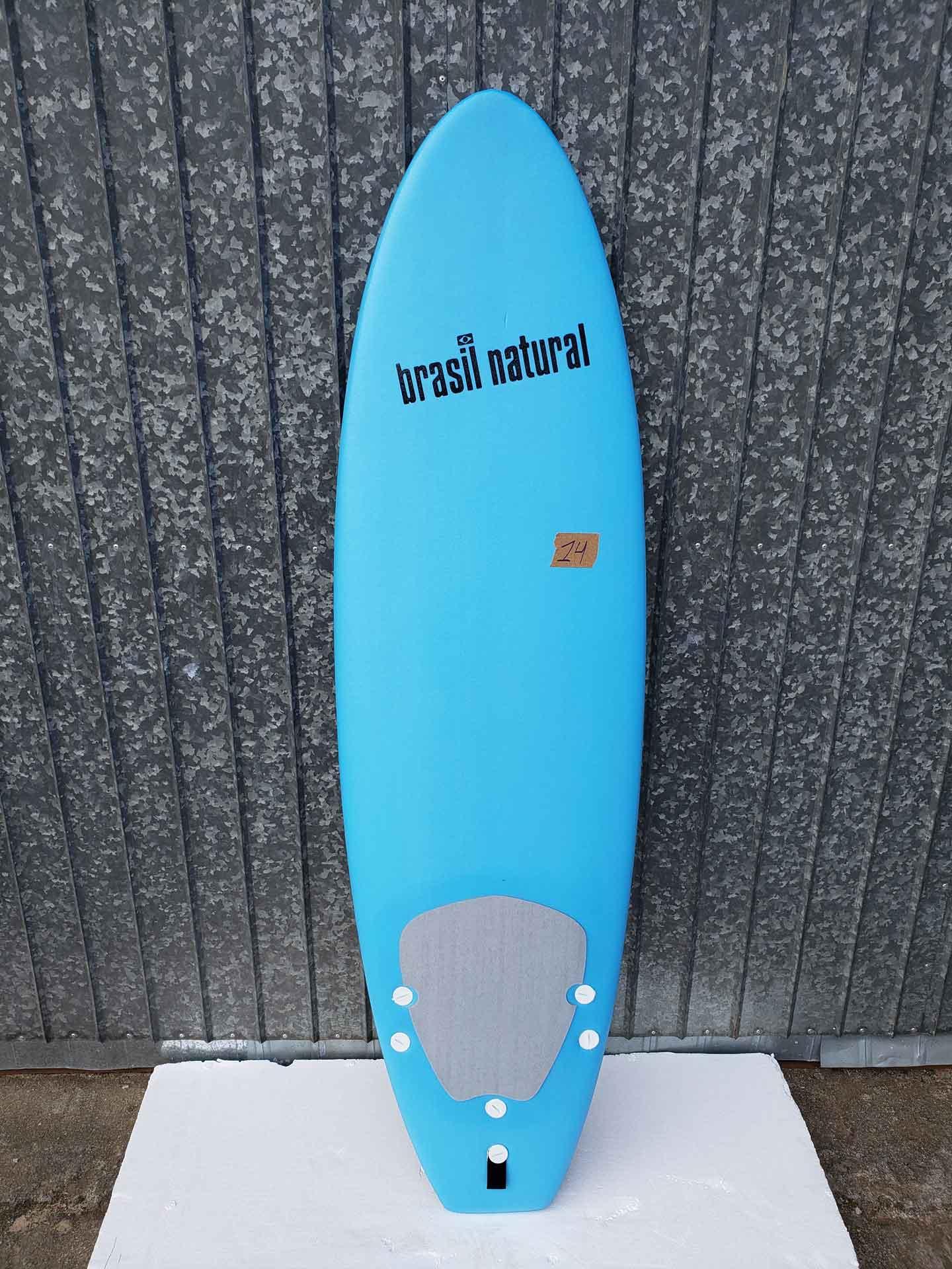 Prancha de surf infantil 5.8 + kit surf - outlet 14