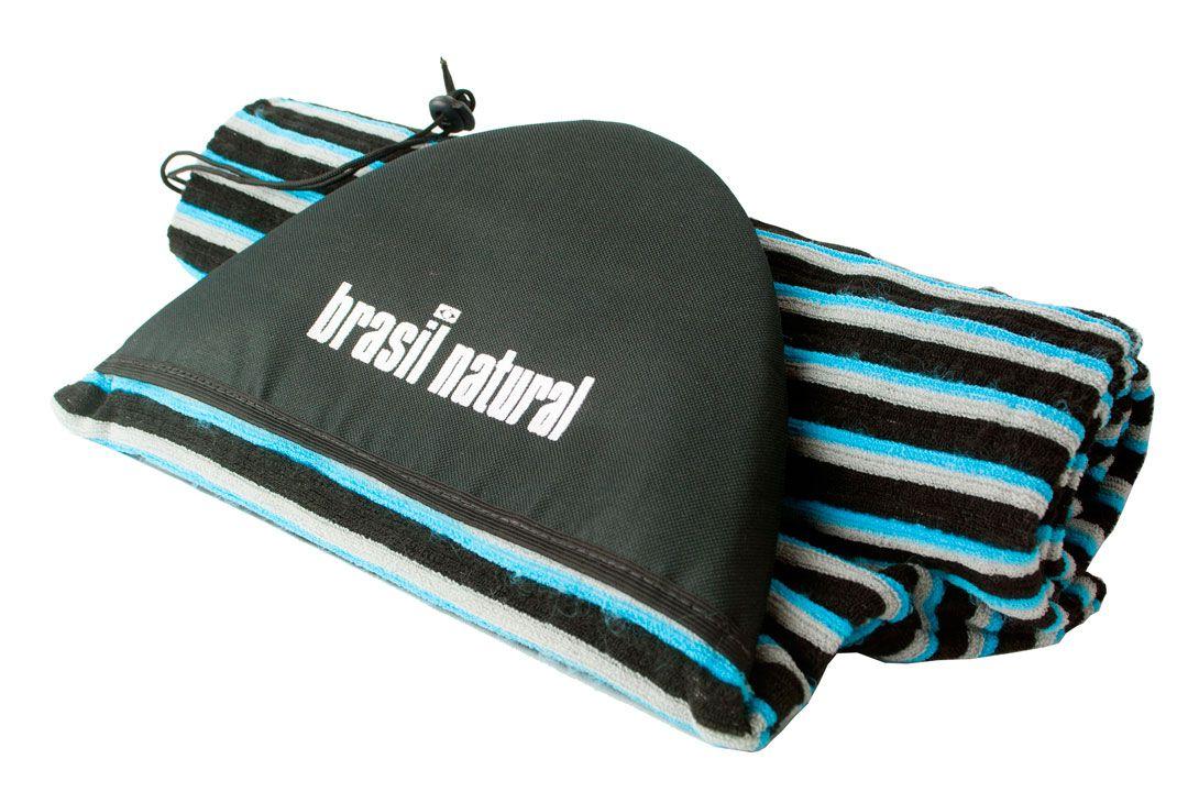 [UPGRADE] Capa atoalhada para prancha de surf infantil - Brasil Natural