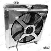 RADIADOR C10 COM DEFLETOR E ELETRO VENTILADOR