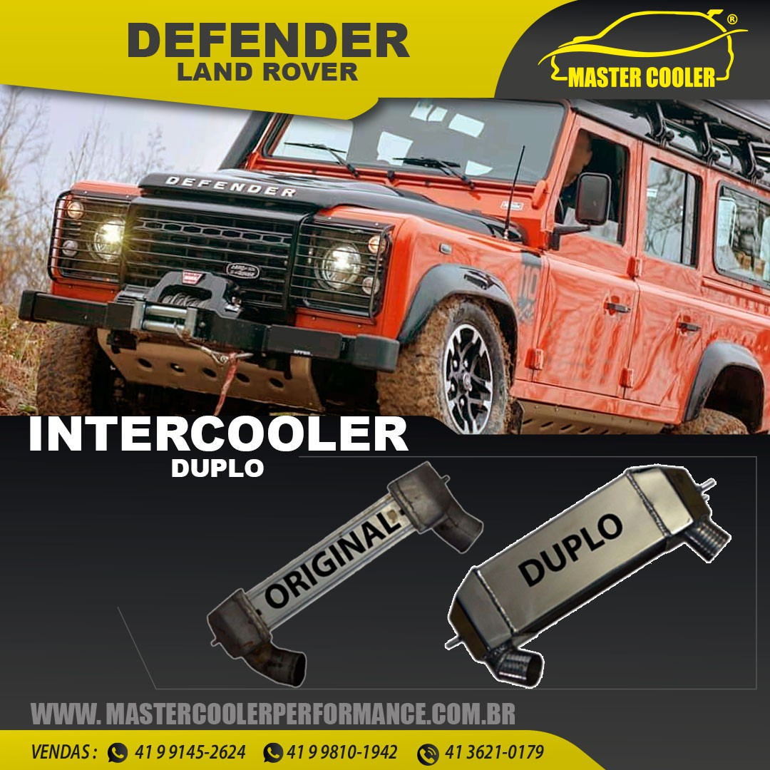 INTERCOOLER LAND ROVER DEFENDER DUPLO