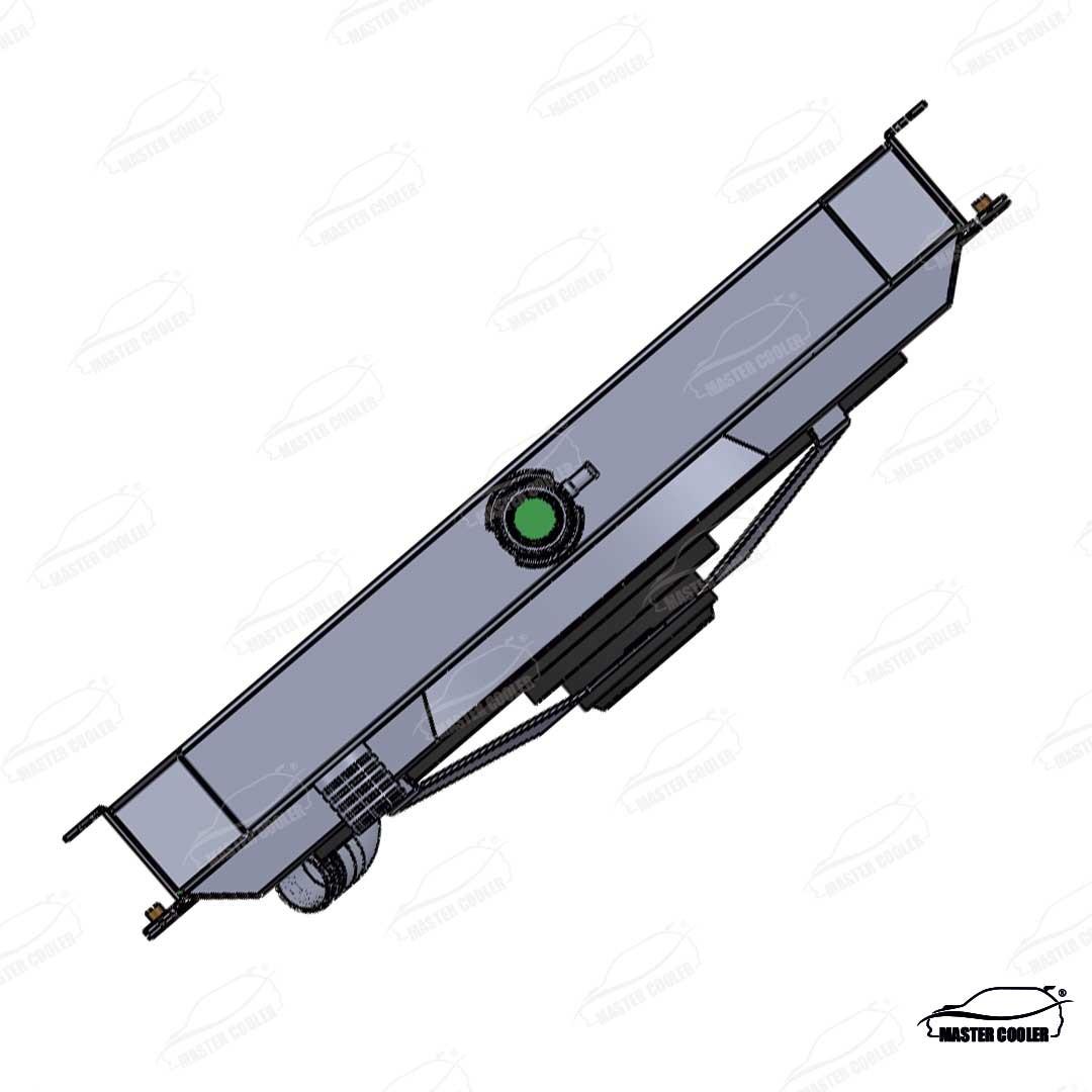 RADIADOR Hyundai Galloper v6 manual 98 COM DEFLETOR E ELETRO VENTILADOR
