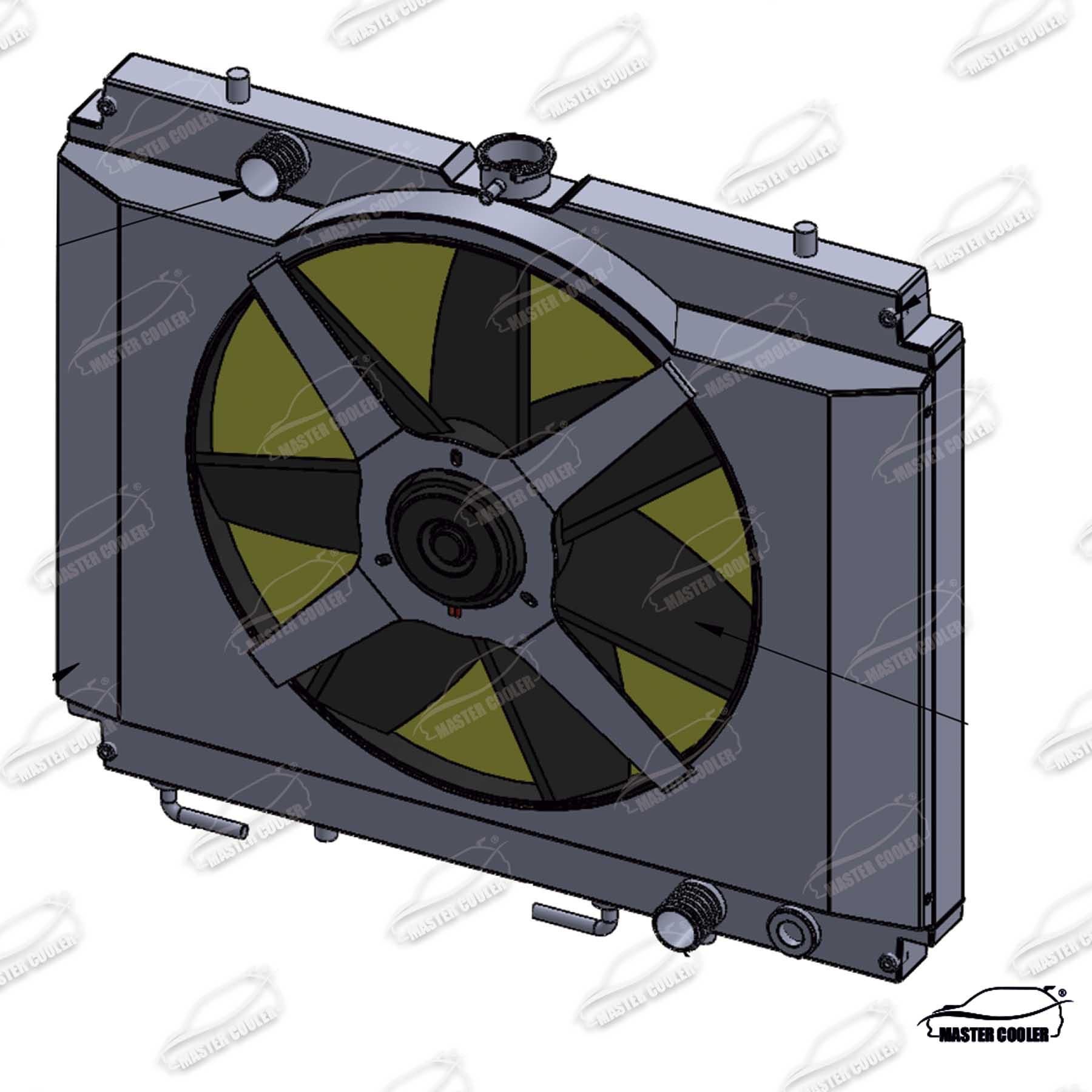 RADIADOR L200 SPORT 2.5 2004 AUTOMÁTICA COM ELETRO