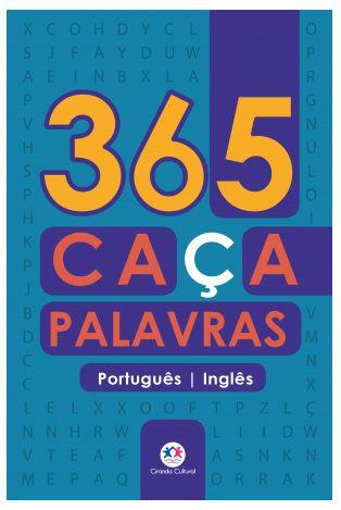 365 caça-palavras português-inglês 288paginas