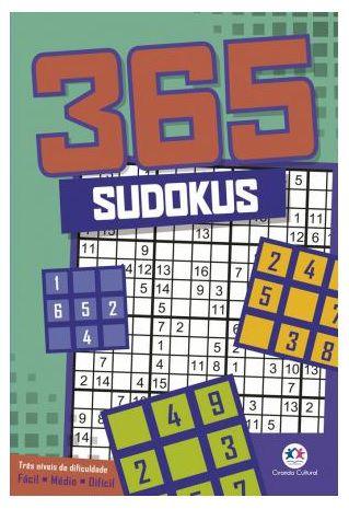 365 sudokus  288paginas