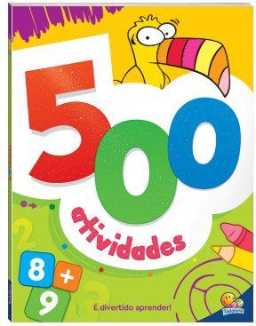 500 atividades 5+ - verde ou laranja