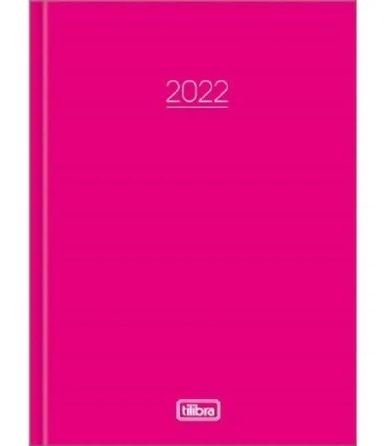 Agenda Costurada Diária Pepper Rosa 2022