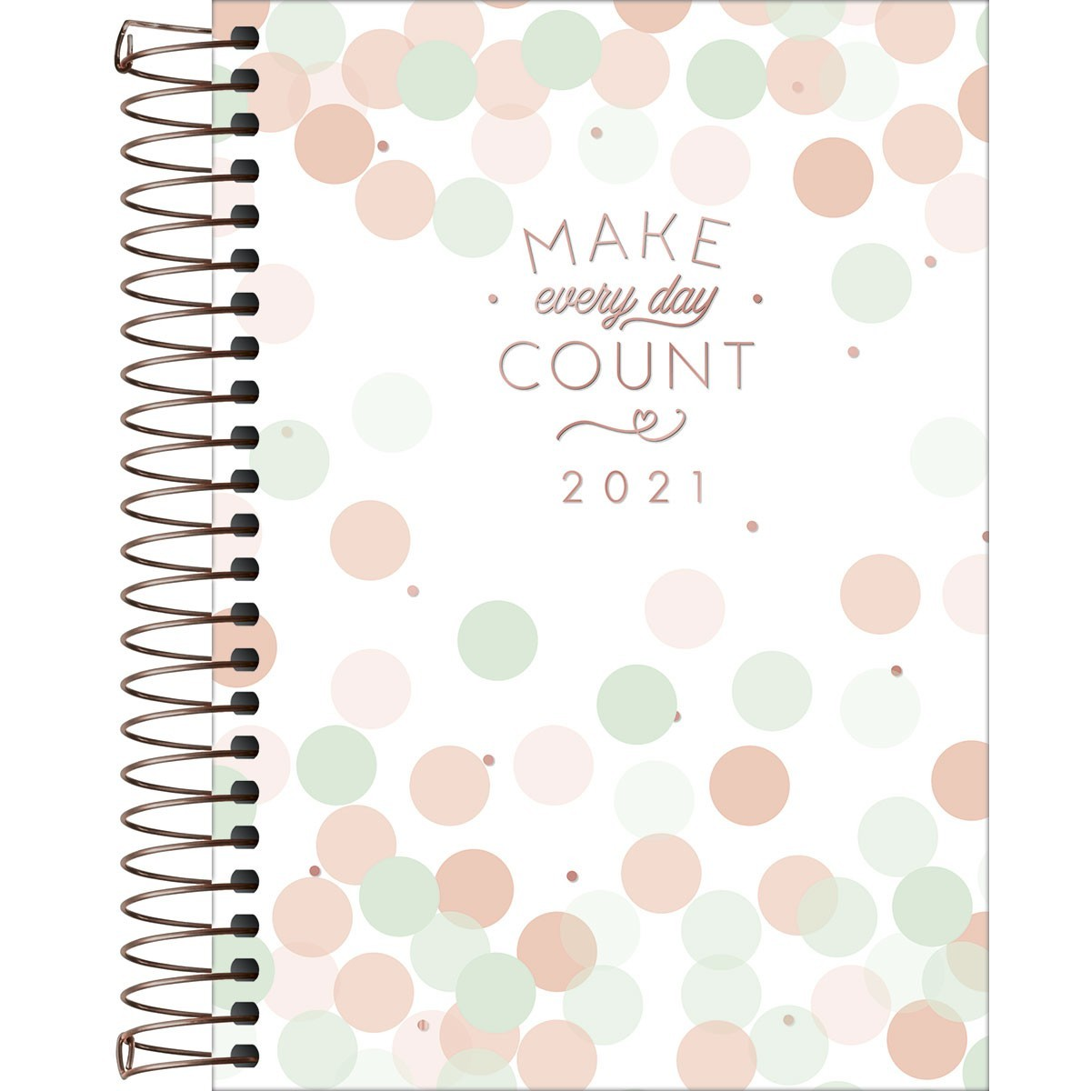 Agenda Espiral Diária Soho Make Every Day Count 2021
