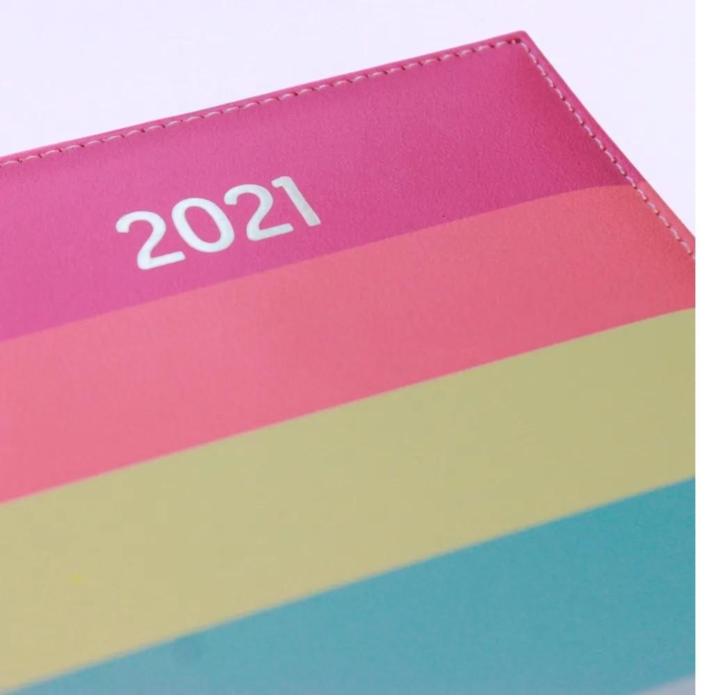 Agenda Mini Executiva Arco-íris Enjoy 2021 - Dac