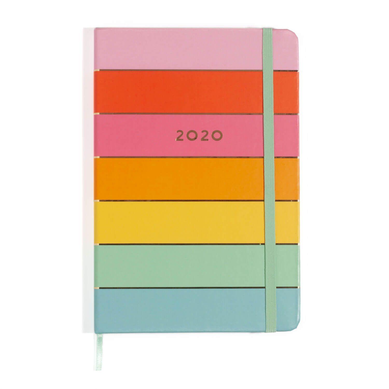 PROMOÇÃO - Agenda Planner 2020 Arcoiris 21x14cm - Cicero