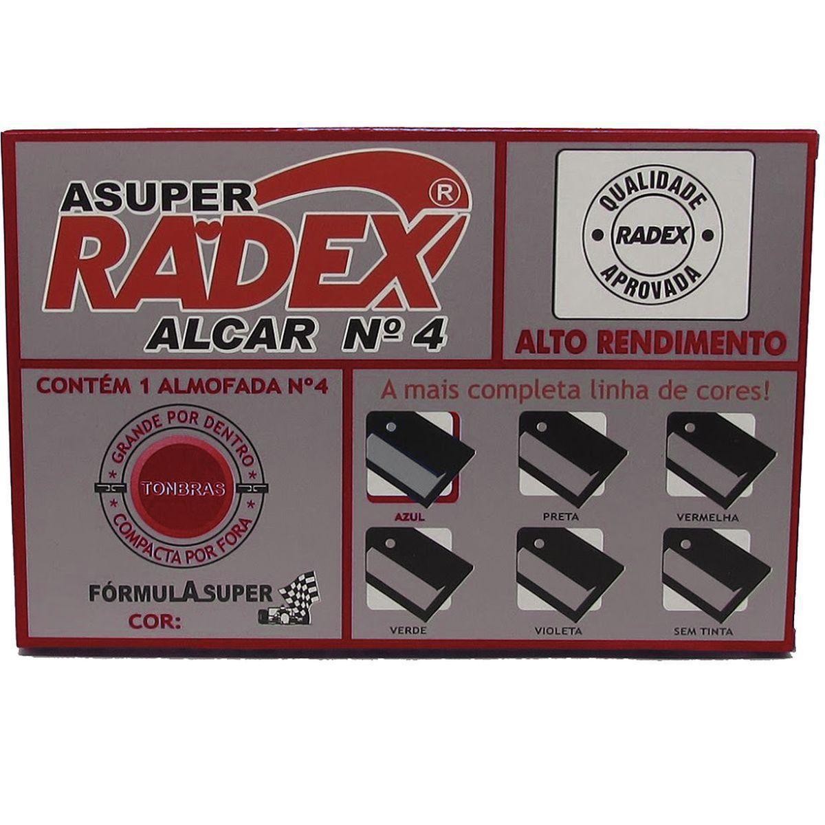 Almofada para carimbo nº4 - Radex
