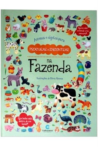 Animais E Objetos Para Procurar E Encontrar - Na Fazenda