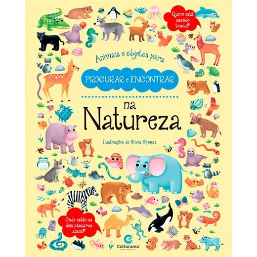 Animais e objetos para procurar e encontrar - Natureza