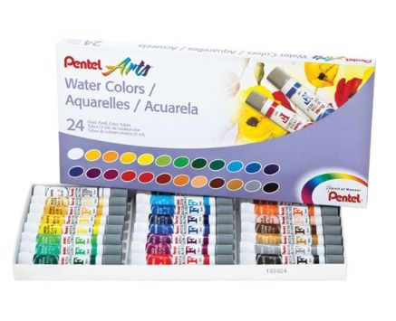 Aquarela 24 Cores - Pentel wfrs-24