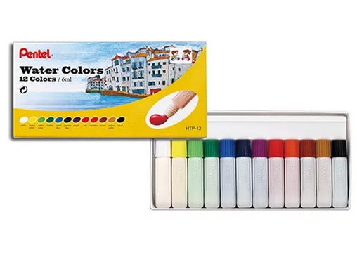 Aquarela pentel Water color 12 cores